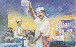 MALAYSIA(chip) - Teh Tarik, Telecom Malaysia Telecard RM10, Used