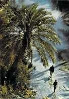 """Afrique-Tunisie Oasis De NEFTA TOZEUR GABES Ou KEBILI Timbre Stamp""""REPUBLIQUE TUNISIENNE(Jeux Méditerranéens Tunis 1967) - Tunisie"""