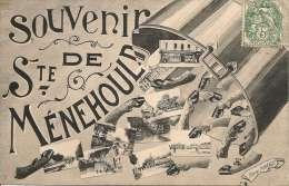 SAINTE-MENEHOULD - Souvenir, Carte Fantaisie    -- Foucault - Sainte-Menehould