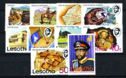 517 ) Lesotho Sc.#199-208 Mint*  Offers Welcome - Lesotho (1966-...)