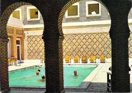 Tunisie TOZEUR Grand Hôtel De L´oasis:la Piscine Timbre Stamp REPUBLIQUE TUNISIENNE(Jeux Méditerranéens Tunis 1967 - Tunisie