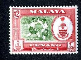524 ) Malaysia Penang SG.#64 Mint*  Offers Welcome - Negri Sembilan
