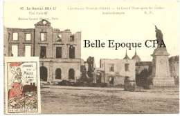 55 - FRESNES-en-WOEVRE - La Grand´Place ++++++ Journée De La Meuse - 4 Mars 1917 +++ - France