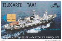 TAAF, TAF-03, Ship Le Marion Dufresne, Only Issued 1.500, 2 Scans. - TAAF - French Southern And Antarctic Lands