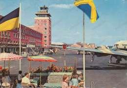 MUNCHEN Airport, Flughafen Riem  Old Photo Postcard - Aerodrome