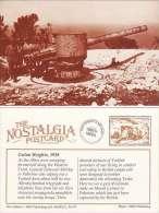 Postcard WW1 GOLAN HEIGHTS Palestine 1918 Captured German Gun Nostalgia Repro - Equipment