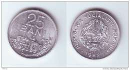 1982 Romania Roumanie Rumanien 25 Bani  1 Pcs. Circulated - Roumanie