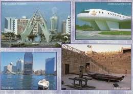 CPM - EMIRATS ARABES UNIS - DUBAI - Multivues - Coul - Ann 90 - - Dubai
