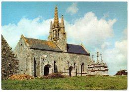 CP, 29, CARHAIX, La Chapelle N.-D. De Tronoen (XIVe Siècle), L'Imposant Calvaire (XVe Siècle), Voyagé - Carhaix-Plouguer