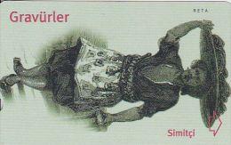 Turkey, N-200, Engravings, Simitçi, 2 Scans. - Turkey