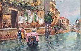 Venise Repiquage Pub Au Dos Moka Casier - Neuve/unused - Venezia