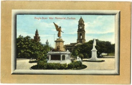 Anglo-Boer War Memorial, Durban - & Statue - South Africa