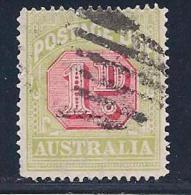 Australia, Scott # J51 Used Postage Due, SG D92, 1922, 5 Mm Tear At Top - Postage Due