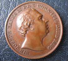 GREAT BRITAIN - SIR JOSEPH BANKS 1743 - 1820 MEDAL AWARDED TO H.H.BROWN 1967 - VERY FINE - Royaux/De Noblesse