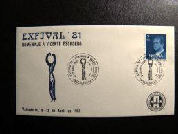 Cover From Spain Special Cancel Escudero - 1931-Hoy: 2ª República - ... Juan Carlos I