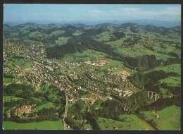 BRUGGEN Flugaufnahme St. Gallen Stadtteil West Stempel OFFA Freizeit- Und Pferdemesse 1989 - SG St. Gall