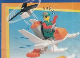 Lego 4613 Jack Stone Turbo chopper avec plan 100 % Complet voir scan