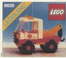 Lego 6628 La d�panneuse Edition Shell avec copie couleur du plan 100 % Complet voir scan