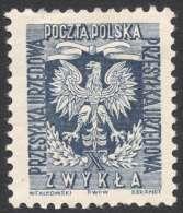 Poland, 60 G. 1954, Sc # O30, Mi # 27A, MH - Officials