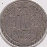@Y@  Turkije   10  Kurus  1938    (item 2429) - Turkije