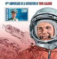 Niger. 2013 Yuri Gagarin. (425b) - Space