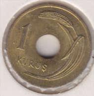 @Y@  Turkije   1  Kurus  1949    (item 2433)  AUNC - Turkije