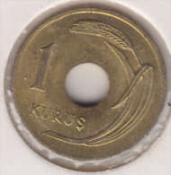 @Y@  Turkije   1  Kurus  1949    (item 2433)  AUNC - Türkei