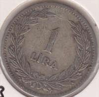 @Y@  Turkije   1 Lira  1947    (item 2435) - Turkije