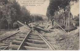 L1428 - Guerre De 1914 Destruction D'une Voie Ferrée Sur Le Nord Près De Pecquigny - Weltkrieg 1914-18