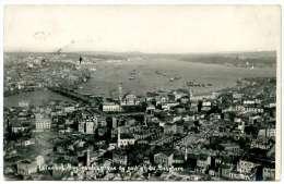 Istanbul, Panorama, 16.3.1936, - Türkei