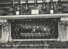 Rome - Roma - Basilique St Pierre - Corps De Pie X Pape - Corpo Di S. Pio X Papa - Non écrite - San Pietro