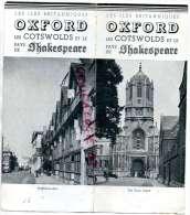 ANGLETERRE - OSFORD - LES COTSWOLDS ET LE PAYS DE SHAKESPEARE-STRATFORD SUR AVON-1938 - United Kingdom