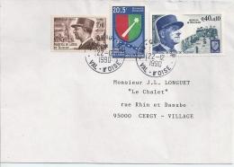 Guerre De 40 Lettre Commémorative - WW2 (II Guerra Mundial)
