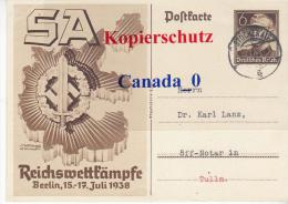 B  3  ---- Postkarte  Ganzsache P 271 Von Stockerau Nach Tulln  178.1938 - Covers & Documents