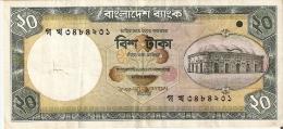 BILLETE DE BANGLADESH DE 20 TAKA  (BANKNOTE) - Bangladesh