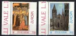 Vatican 1993. EUROPA CEPT - Arts Set MNH (**) Michel: 2 EUR - 1993