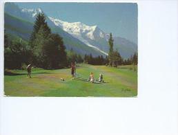 Golf Club De Campagne à Chamonix  ( Haute Savoie)) - Golf