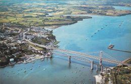 TAMAR BRIDGE AERIAL VIEW - England