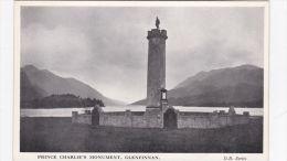 GLENFINNAN - PRINCE CHARLIES MONUMENT - Altri