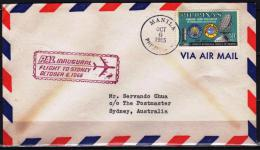 Philippines 1965  FDC  Meteorological Service Weather Meteo Meteorology - Environment & Climate Protection