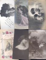 PARTE DE LA COLECCION DE POSTALES DE LA MILLONARIA COLECCIONISTA AIMEE PEYRIGA Y SU ESPOSO FUNCIONARIO DEL BANCO FRANCES - Postkaarten