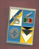 AVIAZIONE Stemma Nato - Italy