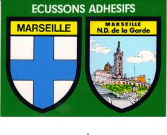 Blason Adhésif - Marseille - Marseille