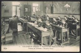 CALLENELLE Pensionnat Des Dames De St Maur Chateau De Callenelle Premiere Classe - Peruwelz