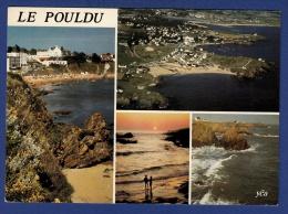 29 LE POULDU En Clohars Carnoet Plages Des Grands Sables Et Bellangenêt, Rochers Du Kerrou 4 Vues - Le Pouldu