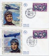 FDC - Poste Aérienne - Yvert PA 47 - Paris + Levallois-Perret - 10 Juin 1972 - Cote 22 Euros - R396 - FDC