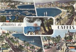 ALPES MARITIMES-SOUVENIRS DE CANNES Multivues-MB - Cannes