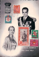 CP Rainier III Et Grace Kelly + Timbres (26356) - Unclassified