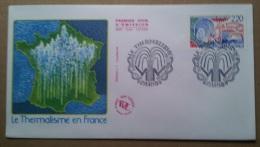 Enveloppe Premier Jour - FDC - LE THERMALISME EN FRANCE  . - FDC