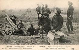 CHASSEURS ALPINS -  WW1 -  ARTILLERIE ELD - Oorlog 1914-18